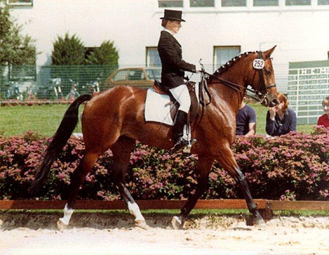 1ère participation aux championnats régionaux avec Squaw en 1980 à Tübingen