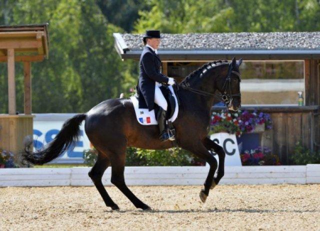 2013 : 2ème place (71,3%) dans le Grand Prix Spécial de Fritzens