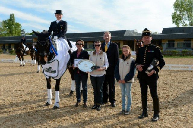 3. Platz mit Florentino im Grand Prix Special von Saumur 2013