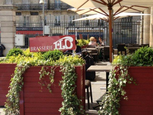 """Zur Feier der Erfolge in Saumur war ich in Paris noch kurz bei """"Flo"""" essen"""