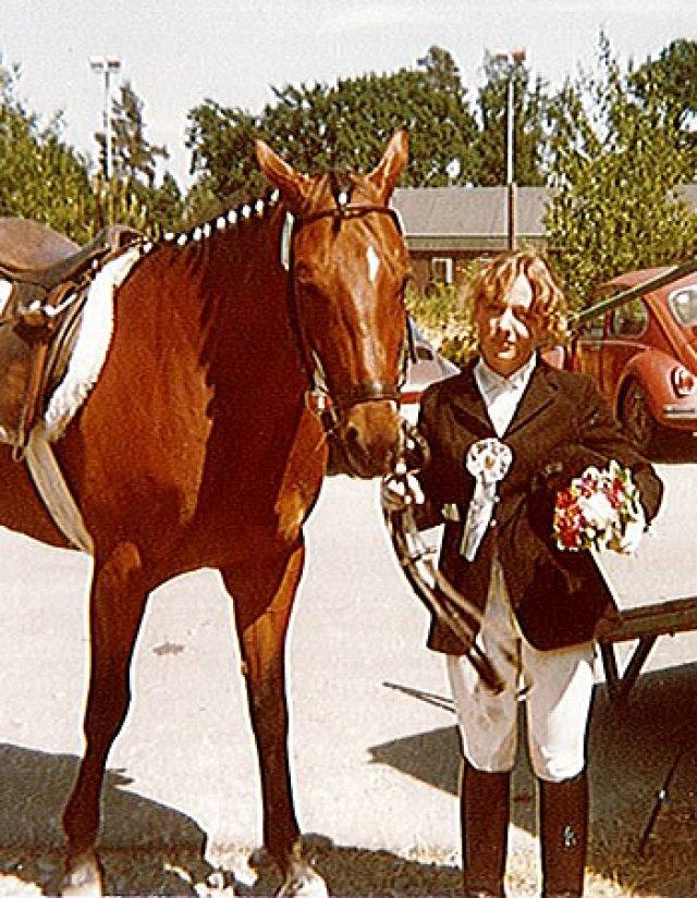 En 1979, 2ème place avec Squaw, dans la reprise de C