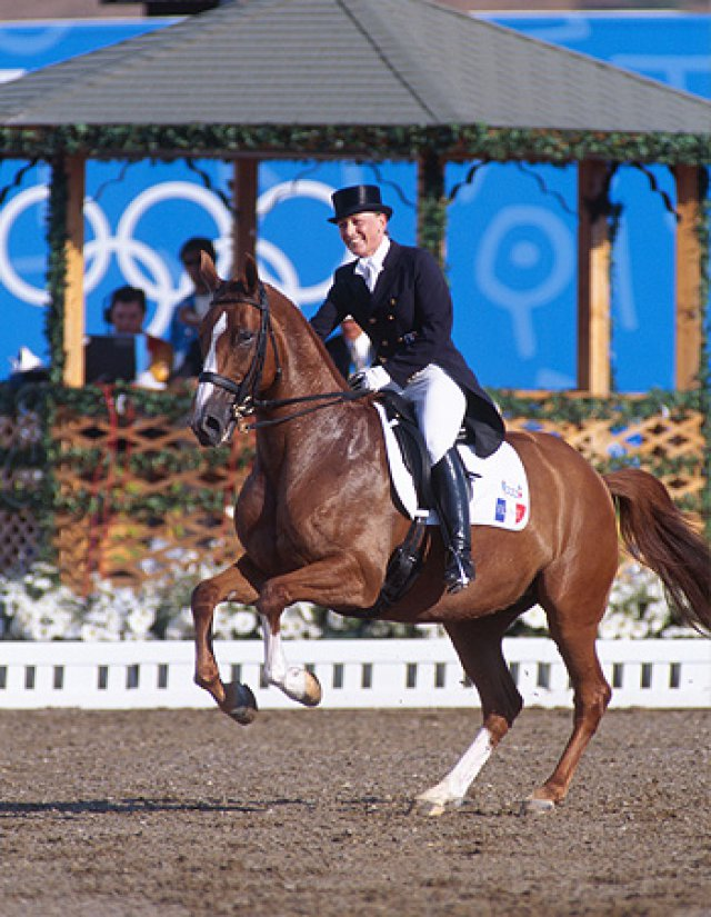 Karen et Falada aux Jeux Olympiques d'Athènes en 2004
