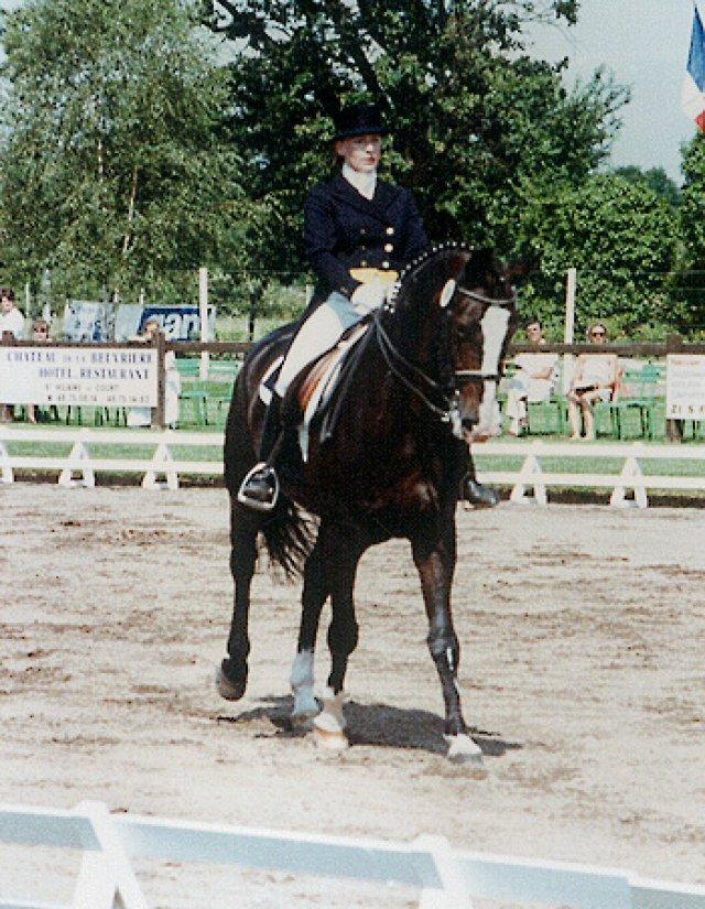 CDI Vierzon 1991: 6. Platz Intermediaire I