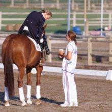Astrid 2004 bei den Olympischen Spielen in Athen